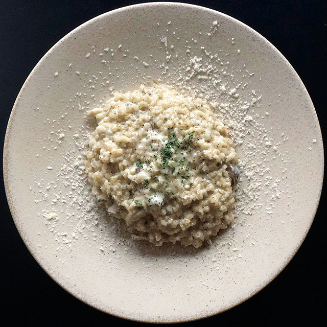 ゴルゴンゾーラの玄米リゾット